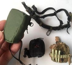 1:6 Scale Dragon Jake Hanson WWII USMC Ammo pouch+bayonet+harness+bottle+crab