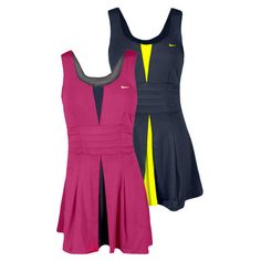 Look better, play better? Love the Nike Tennis Dresses