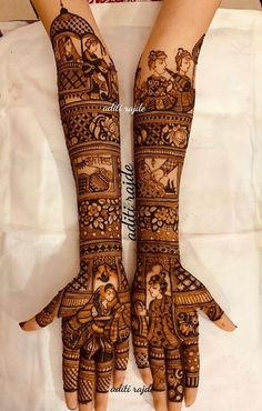 Picture from Aditis Mehendi Art Photo Gallery on WedMeGood. Browse more such photos & get inspiration for your wedding Engagement Mehndi Designs, Latest Bridal Mehndi Designs, Mehndi Designs 2018, Mehndi Designs For Girls, Modern Mehndi Designs, Wedding Mehndi Designs, Latest Mehndi, Art Designs, Rajasthani Mehndi Designs