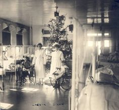 Christmas on the ward, St. Louis Children's Hospital, 1923. :: Visual Collections