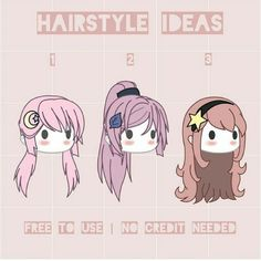 gacha hairstyle ideas #gacha #hairstyle #ideas Cute Anime Character, Character Outfits, Kawaii Drawings, Cute Drawings, Bad Girl Outfits, Drawing Anime Clothes, Pelo Anime, Hair Sketch, Clothing Sketches