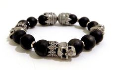 Guilty Jean Onyx King Bracelet  http://iconicthreadsco.com/index.php/men/accessories/bracelets/guilty-jean-onyx-king-bracelet.html  Use Promo code rockstarstyle15 at checkout to recieve 15% off your purchase!  #men #menswear #fashion #inkedguys #inkedmen #tattoo #swag #style #mensfasion #retail #onlineshopping #shop #sexy
