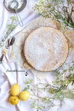 Könnyű nyári citromos pite | sutisdobozoom Camembert Cheese, Dairy, Food, Essen, Meals, Yemek, Eten