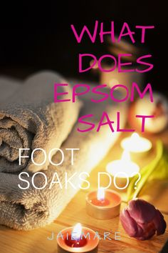 Do you suffer from foot pain, heel pain, or plantar fasciitis? It is possible you may be showing signs of a magnesium deficiency. Epsom salt foot soaks can help with magnesium absorption and overtime stop the feeling of pins and needles in the feet. jaiemare.com Epsom salt foot soak | epsom salt foot soak for pain | epsom salt foot soak for swelling | epsom salt foot soak diy #epsomsalt #epsomsaltsoak #jaiemare #epsomsaltsoaks #epsomsaltfootsoak #epsomsaltplease #epsomsaltbenefits Diy Foot Soak, Foot Soaks, Chronic Migraines, Fibromyalgia, Chronic Pain, Heel Pain, Foot Pain, Epsom Salt For Feet, Message Therapy
