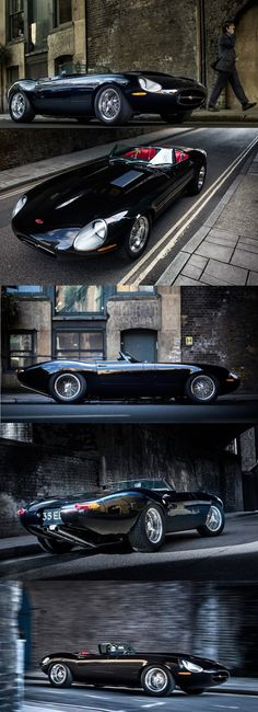 Eagle Speedster, modern Jaguar E-Type Roadster redesign and build Automobile, Auto Retro, Cabriolet, Jaguar E Type, Jaguar Cars, Jaguar Roadster, Car Wheels, Future Car, Sexy Cars