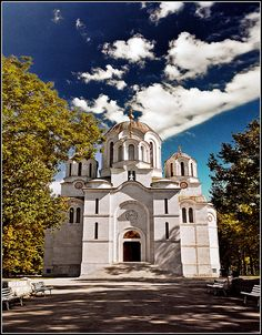 The church of St. George - Oplenac, Serbia