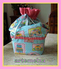 ARTEMELZA - Arte e Artesanato: Porta pão com pote de sorvete.
