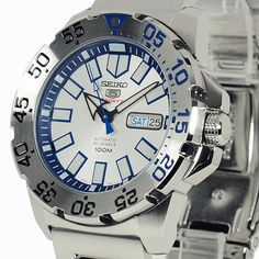 SEIKO Diver SRP481K1 Orologio Uomo Automatico Ice Monster Limited Edition