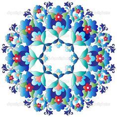 YAY Images - Ottoman motifs design series with fourteen version by antsvgdal Glue Art, Turkish Art, Motif Design, Abstract Flowers, Free Illustrations, Islamic Art, Pattern Art, Flower Art, Crafts