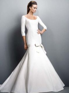 Modest Clothing For Women   Wedding Fashion » Modest wedding gowns with long sleeves