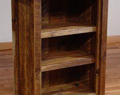 Rustic Mountain gehauenen kleinen Bücherregal