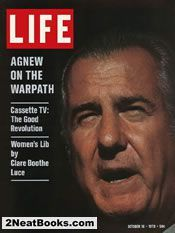 Spiro Agnew  life magazine cover: 16 Oct 1970