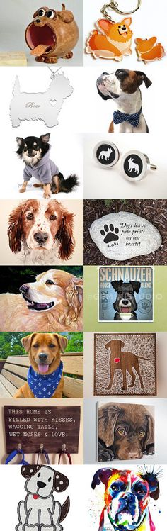 Woof by Angie Hale on Etsy--Pinned+with+TreasuryPin.com