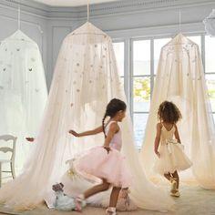 This PB Kids + Monique Lhuillier Collab = Seriously Dreamy Kids Room Decor | Brit + Co