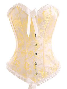 Victorian Corsets | Victorian Yellow Corset [02TCS510] - €29.89 : Gothikas, Gothic ...