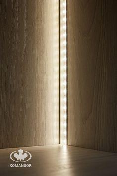 oświetlenie LED w meblach Komandor
