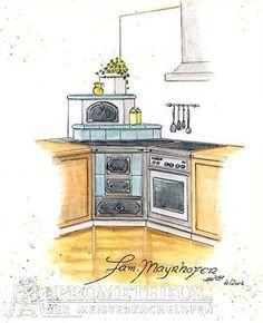 Eck-Küchenherd