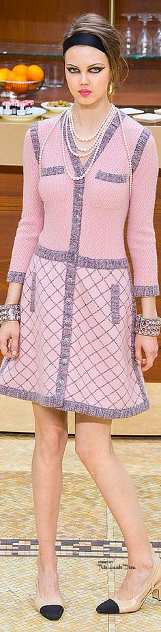 ideas for fashion week paris chanel fall 2015 Party Fashion, New Fashion, Trendy Fashion, Autumn Fashion, Beautiful Outfits, Cool Outfits, Fashionable Outfits, Coco Chanel Fashion, Chanel Outfit