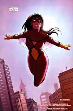 Spider-Woman by Jonathan Luna & Joshua Luna Dc Comics Women, Marvel Women, Marvel Girls, Comics Girls, Comics Spiderman, Marvel Dc Comics, Marvel Heroes, Superhero Villains, Comic Book Superheroes
