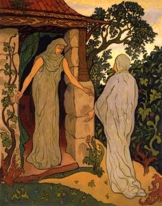 The Visitation - Paul Ranson - The Athenaeum