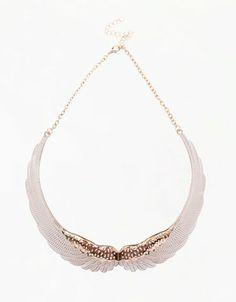 Bershka Bulgaria - Wings necklace  http://www.bershka.com/webapp/wcs/stores/servlet/product/bershkabg/en/40109502/42504/2656006/Wings%2Bnecklace/251