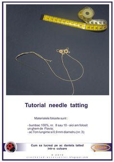 needle tatting tutorial by thestoryteller1