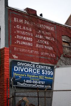 ghost sign for Elm Street Paint & Hardware – Yonkers, New York