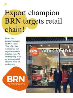 Export champion BRN targets retail chain!