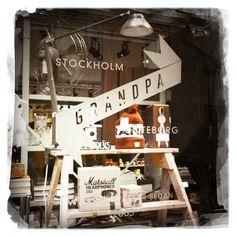 Vintage shopping #Grandpa Stockholm Södermannagatan 21, Stockholm (Södermalm)