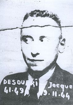 Jacques Desoubrie (1922 – 1949) was a French traitor and double agent who worked for the Gestapo during the German occupation of France during World War II. Link to article: http://en.wikipedia.org/wiki/Jacques_Desoubrie
