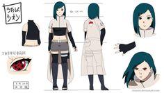 Naruto OC: Uchiha Shion by RinARinI