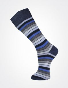 Effio X Effio Bloom of Life - Nicety no.709 #Men #Fashion #Socks #Stripes #Blue