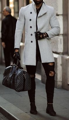 Men's clothing / Black jeans / Stylish Mens Outfits, Casual Outfits, Men Casual, Fashion Outfits, Smart Casual, Fashion Ideas, Style Masculin, Outfit Trends, Mens Fashion Suits