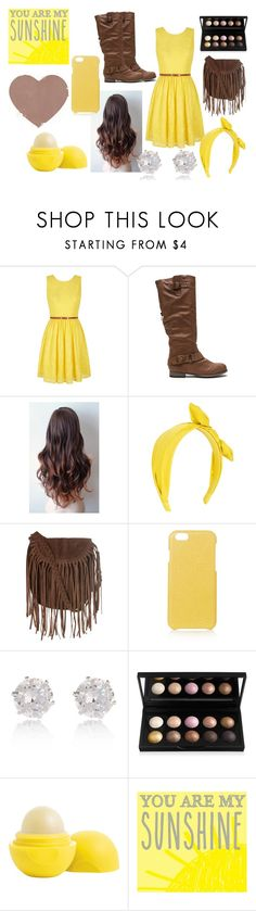 """""""You Are My Sunshine"""" by girlwithglitter ❤ liked on Polyvore featuring Yumi, Glamorous, The Case Factory, River Island, Eos and New View"""