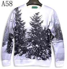 [Sunny] 2015 nieuwe vrouwen/mannen 3d sweatshirts top gedrukt wit en zwart winter bos boom sneeuw hoodies s/m/l/xl A58 in Very nice model harajuku Women's 3d sweatshirt print big nightfall tree long sleeve 3d hoodies sports tracksuits pullove van hoodies en sweatshirts op AliExpress.com | Alibaba Groep