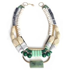 Shoals Necklace by History + Industry on http://adornmilk.com