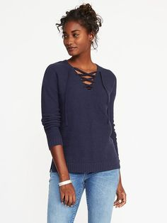 52bb101003 Old Navy - Page Not Found. Old Navy Lace-Up Textured Sweater ...