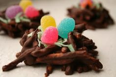 Easter Nests    {only five ingredients and no baking}