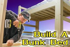 Learn how to build a sturdy bunk bed. FREE plans and tutorial!