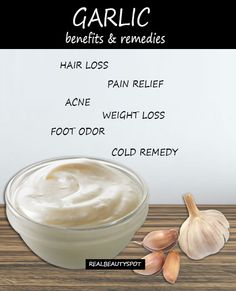 Amazing remedies and benefits of garlic