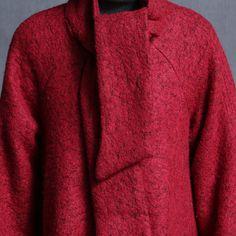 Women warm long 2 colors Woolen coat - Tkdress  - 4