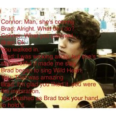 Brad Imagine<< Wild Heart is my favorite song  BRAD GIRL DOWN