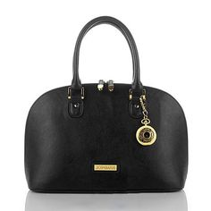 Joy & IMAN 22-Section Genuine Leather Handbag & Watch
