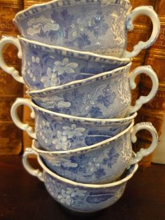 Spode cups, for coffee or tea