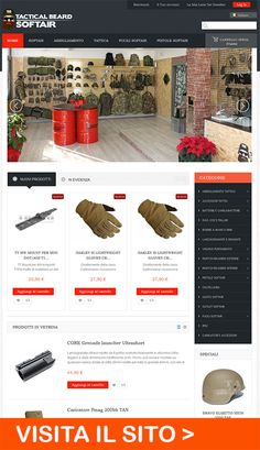 Realizzazione Ecommerce Tactical Beard www.tacticalbeardsoftair.it
