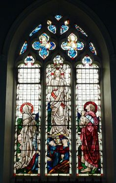 glass for church and pinterest | Stained Glass, St Catherine's Church, Sacombe, ... | Architecture ...