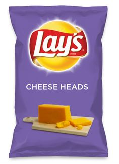 Wouldn't CHEESE HEADS be yummy as a chip? Lay's Do Us A Flavor is back, and the search is on for the yummiest flavor idea. Create a flavor, choose a chip and you could win $1 million! https://www.dousaflavor.com See Rules.
