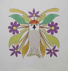 Blossoming Owl, 2006  Kenojuak Ashevak