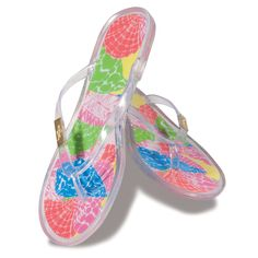 Lilly Pulitzer jellies