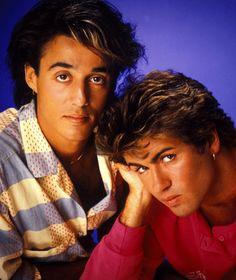 Wham - George Michael and Andrew Ridgeley